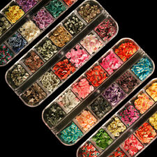 480pc Fimo Sliced Nail Art Cane with Box Fruit Flower Butterfly Animals Cakes