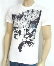 American Eagle Outfitters AEO 73022 Mens White Tee Printed T-Shirt New NWT