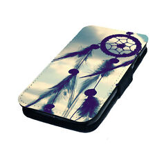 Dream Catcher Style Design 2 Printed Faux Leather Flip Phone Cover Case