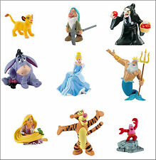 Official Bullyland Disney Figures Figurines Toys Cake Toppers
