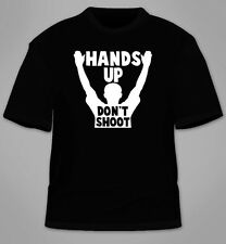 Michael Brown Mike T-Shirt. Ferguson Hands Up Don't Shoot Justice Peace Protest