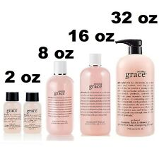 NEW Philosophy Amazing Grace Shampoo, Bath & Shower Gel 2 8 16 32 oz U PICK