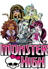 MONSTER HIGH wall stickers (choice of 30 images in 2 sizes) DISCOUNTS AVAILABLE