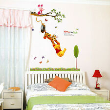 New Winnie The Pooh Wall Sticker Vinyl Decal Decor Removable Nursery Kids Baby
