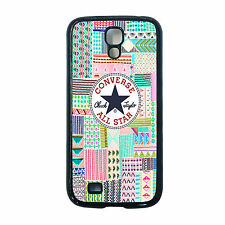 NEW CONVERSE PATCH WORK TRENDY PHONE CASE SAMSUNG GALAXY S3 / S4 / S5 FREE P&P.