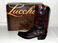 BC SMO/BC Goat Toe 7 Heel 4 Lucchese N9580