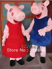 NEW 2014 PEPPA Pig, Brother GEORGE Mascot Costume Adult All SIZES FREE SHIPPING