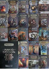 3.5 3.0 ed d&d dungeons and dragons multi-list rule books source adventures