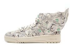 Adidas Jeremy Scott Wings Money 2.0 White Vapour/Aloe Limited Edition Sneakers