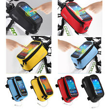 Mountain Road Bike Bicycle Smart Phone Frame Tube Pouch Bag Case Holder 5.5 Inch