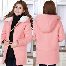 2014 new fashion Autumn and winter Slim hooded chunky coat for pregnant women