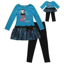 NWT Dollie & Me 7 8 Matching Doll Holiday Outfit Fits American Girl 18 Inch