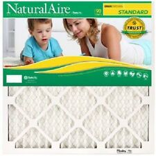 HVAC / PLEATED AIR FILTER - CASE OF 12 - FURNACE FILTERS - SHIPS FREE