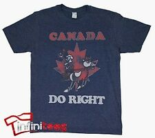 Canada Do Right - Rocky And Bullwinkle Sheer Licensed Adult T-Shirt S-2XL