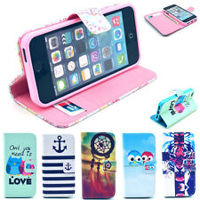 Popular Selection Image Protector Flip Leather Stand Case Cover for iPhone 5/5S