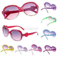 Toddler Kid Plastic Frame Sunglasses Girls Baby Cartoon Flower Design Eyeglasses