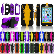 Survivor Military Heavy Duty Defender Shock Proof Cover Case for iPhone 6 5S 5 4