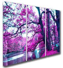 Autumn garden CANVAS landscape PICTURE MODERN WALL PRINT any sizes/set panels