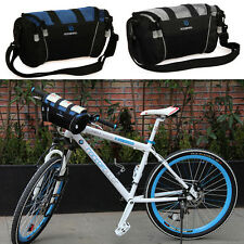 ❤Super Cheap❤ Sports 600D Bicycle Bag Bike Front Tube Handlebar Bags Pouch Bag