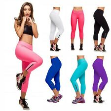 Women Casual Athletic Appreal Yoga Gym Sport Legging Slim Fitted Stretch Pants