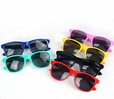 Cute Boys Girls Kids  Plastic Frame Sunglasses Goggles 6 Colors UV400 Protection