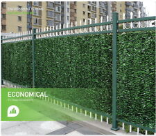 Artificial Ivy/Leaf Hedge Screening 3m x 1m Roll - Three Styles To Choose From