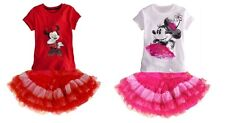 SALE kids girl sets baby dress outfits clothes T shirt skirt for 1-5 years S99