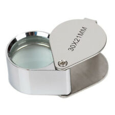 Glass Loop Lens Magnifying Magnifier Jeweler Loupe 30x21mm 20x21mm 10x21mm