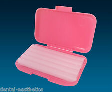 2 x Bubblegum Scented Orthodontic Dental Wax ~ 2 Boxes of 5 Strips Brace Relief
