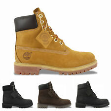 TIMBERLAND BOOTS - TIMBERLAND 6-INCH BOOT - WHEAT YELLOW - BLACK - BROWN - RUST