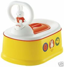 Miffy Toddler Toilet Step Stool Baby Training Potty Chair Seat Sheet Stain Pot