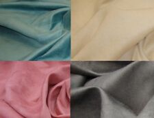 """Micro Faux Suede Upholstery and Drapery Fabric sold by the yard 58"""" Wide"""