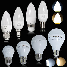 6 X 3/5/7/9W B22 LED Globe Bulb B15 E14 E27 G4 SMD Candle Light Cool/Warm White