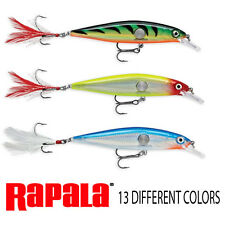 Rapala Clackin' Minnow Fishing lure. ALL 3 SIZES IN 13 COLORS