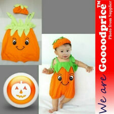 Brand New Halloween Cute Infant Baby Costume Funny Pumpkin Romper set With Hat