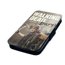 The Walking Dead - Daryl - Printed Faux Leather Flip Phone Cover Case