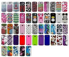For HTC One S Ville New Colorful Design Snap On Protector Hard Cover Phone Case
