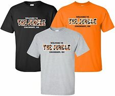 """Welcome To The Jungle"" T-Shirt Size S-4XL cincinnati bengals paul brown stadium"
