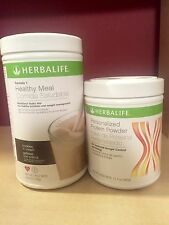 NEW HERBALIFE FORMULA 1 + PERSONAL PROTEIN - FREE FEDEX SHIPPING