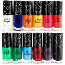 7 Colours Shatter Crackle Crack Nail Polish Varnish Nail Art Tips Cracking Pen