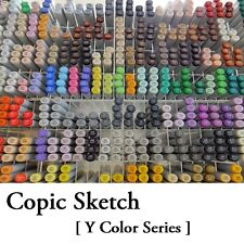 NEW Too Copic Sketch Marker Pen [ Y Color Series ] Free Shipping Japan f/s