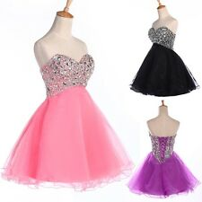 ON SALE Beaded Quinceanera Homecoming Dresses Ball Gown Prom Short Pageant Dress