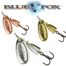 Blue Fox Original Vibrax Spinner Fishing Lure. ALL 7 SIZES IN ALL 3 COLORS