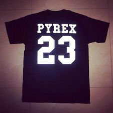 Pyrex Vision 23 basic tee shirt HBA KTZ lovers t-shirt top quality 3M Reflective