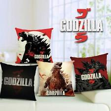 Home Decorative Back Cushion Cover Shell Movie Godzilla Soft Throw Pillows Case