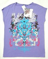 UNIQLO WOMEN SPRZ NY MoMA SPECIAL EDITION Ryan McGinness T SHIRT PURPLE (087487)