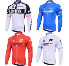 NEW Men's Team cycling long sleeve bicycle jersey racing clothes clothing wear