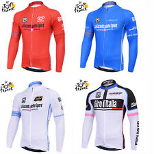 2014 Summer Cycling Racing Team Long Sleeve Men's Black Team Cycling Jersey