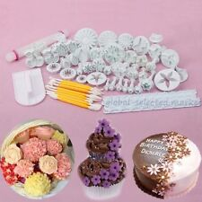 Fondant Cake Decorate Icing Plunger Cutter Mould Sugarcraft Tools Baking Xmas GS
