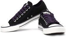 NEW CONVERSE CANVAS  SHOES FOR MEN COLOUR BLACK, PURPLE - VAT BILL